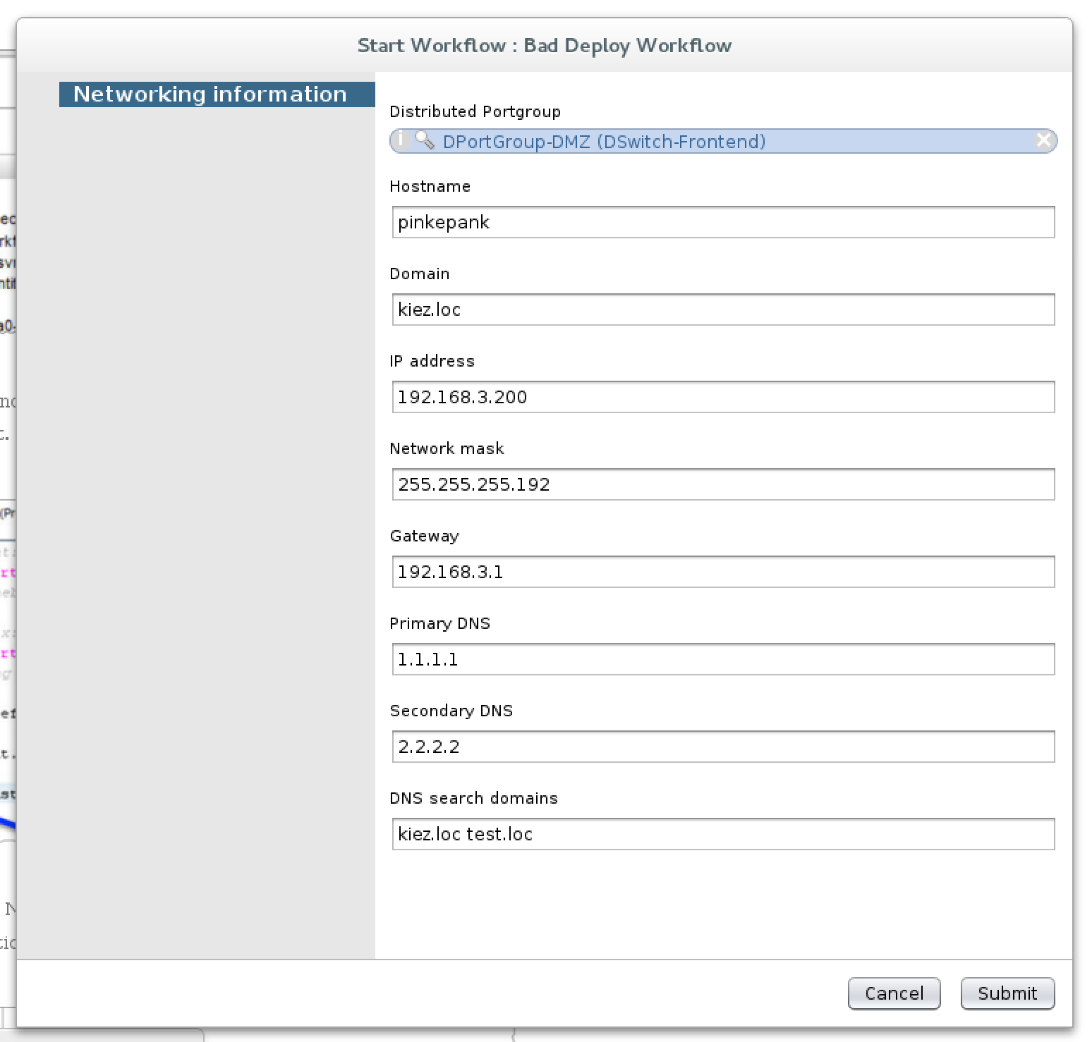 vRealize Orchestrator Configuration Elements in a nutshell | cstan io