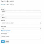 Create Puppet product