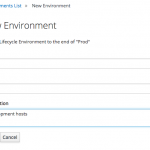 Create Lifecycle Environment